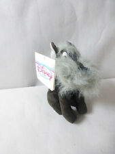 "Disney JOCK Dog Mini Bean Bag Plush Lady & The Tramp Stuffed Animal NWT 8"" Grey"
