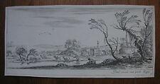 DELLA BELLA ´FLUSSLANDSCHAFT; PAESANA CHE ATTRAVERSA UN FIUME´ VESME 758, 1643