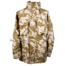 Genuine British Army Desert Camo Gortex Jacket, Size 170/88 Small Regular, NEW