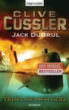 BUCH CUSSLER / JACK DUBRUL TEUFLISCHER SOG / WIE NEU