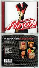 "POISON ""The Best Of - 20 Years Of Rock"" (CD) 2006 NEUF"