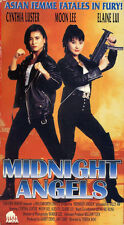 cynthia luster MIDNIGHT ANGELS  moon lee    VHS VIDEOTAPE