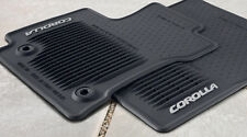 Toyota Corolla AT 2014 - 2016  Black All Weather Rubber Floor Mats - OEM NEW!