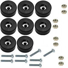 Set of 8 Air Compressor Rubber Feet / Foot Mount + Mounting Screws + Nuts