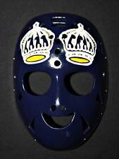 FIBERGLASS VINTAGE NHL ICE HOCKEY GOALIE HELMET MASK Rogie Vachon Crown HO101