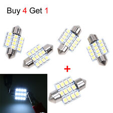 4X 31mm 12 LED SMD Festoon Dome Light lamp Car Bulbs White 3021 DE3175 Get 1pc
