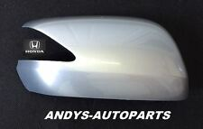 HONDA JAZZ 08 ONWARDS WING MIRROR COVER L/H OR R/H IN ALABASTER SILVER