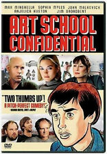 Art School Confidential (DVD) Max Minghella, John Malkovich NEW