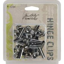 Tim Holtz ~ HINGE CLIPS ~ Idea-ology 15 pcs