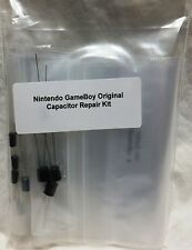 Game Boy Original Capacitor Repair Kit; Fix no power, sound or video (Nintendo)
