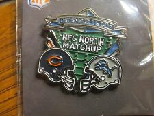 Detroit Lions VS Chicago Bears Game Day Pin December 11, 2016 Ford Field