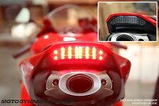 2013-2016 Honda CBR600RR CBR 600RR SEQUENTIAL Signal LED Tail Light SMOKE