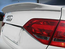 AUDI A4 B8 2009-2012 CS CURVED WING REAR TRUNK BOOT LIP SPOILER M2 ABS Y3248