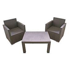 Mobili Da Giardino Set Sedia Tavolo Arredamento Lounge Di Nuovo