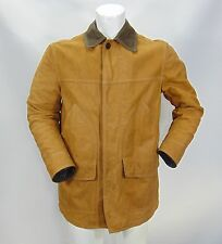 TIMBERLAND di PELLE LEATHER Giacca Giubbino Jacket Coat Jacke Tg S Man Uomo G4/1