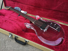 BAD CAT Custom Acrylic Lucite Clear Electric Guitar See Thru Glass EMG-HZ PICKUP