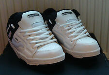 DVS ENDURO SP5 - SKATEBOARDING TRAINERS - SIZE UK10 - WHITE / BLACK