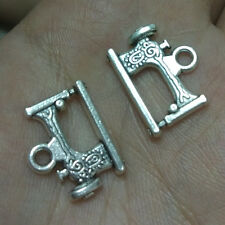 10pc sewing machine Tibetan Silver Bead charms Pendants bracelet accessories-G