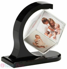 Personalised Gift - FLOATING-  Rotating - MAGNETIC Photo 3D  Cube -CUSTOMISED