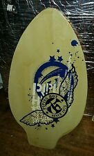Retro/Vintage PIPING HOT Surfboard-Ply board Gr8 Graphics. .. NICE PIECE  !! ��
