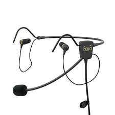 FARO AIR In-Ear Premium Pilot/Aviation Headset - GA plugs - FARO-AIR-GA