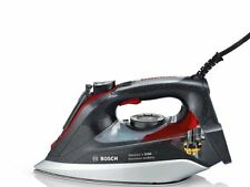 Bosch TDI9020GB 3120w Compact Steam Generator Iron with AntiShine in Grey & Red