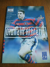 Oldham Athletic v Mansfield Town FA Cup 15-11-1997
