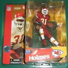 McFarlane NFL series 6 PRIEST HOLMES variant RED jersey action figure-Chiefs-MIB