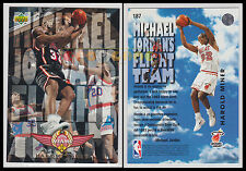 NBA UPPER DECK 1993/94 - Harold Miner # 187 Ita/Eng MICHAEL JORDAN'S FLIGHT TEAM