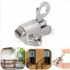 Window Gate Security Pull Ring Spring Bounce Door Bolt Aluminum Latch Lock Hot