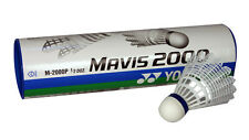 1 TUBE YONEX MAVIS 2000 BADMINTON SHUTTLES SHUTTLECOCKS BLUE MEDIUM JAPAN
