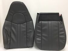 2003-2009 CHEVY GMC C SERIES VINYL SEAT COVER DRIVER BOTTOM/BACK.DK.PEWTER GRAY