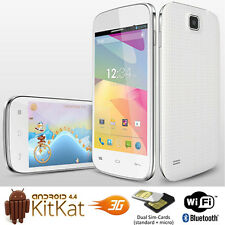 NEW Android 4.4 DualSim 3G Smart Phone WiFi Bluetooth Dual-Cam Google Play Store