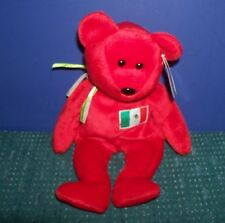Ty Beanie Baby Bear - Osito 1999 - Mexican Bear with Hang Tag