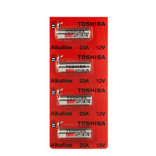 Toshiba A23 Battery 12Volt 23AE 21/23 GP23 23A 23GA MN21 12v 4 Batteries