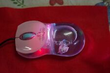 Pink Hello Kitty Liquid Mouse with Floating Charm & Dazzling Lights