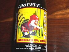 CHOUFFE HOUBLON 2011 LIMITED COLLECTOR'S EDITION BEER BOTTLE 750 GNOME