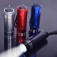 Neu 1Pc Mini Aluminum 9 LED FLASHLIGHT Torch Light Lamp