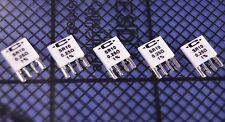 5 Caddock Type SR Precision Current Sense Resistors 0.25 Ohm @ 1%. P/N: SR10-.25