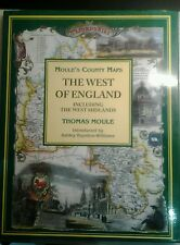 Moule's County Maps: West of England Including the West Midlands by Thomas...