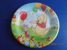 Confezione da 10 Disney Winnie The Pooh Festa Di Compleanno Piatti di carta, 23cm, con Pimpi
