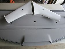VW MK4 JETTA REAR SUN SHADE PRIVACY PANEL GRAY OEM REAR DECK GLI GLX TDI BORA