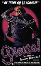 GREASE (BROADWAY) Movie POSTER 27x40 Barry Bostwick Adrienne Barbeau Timothy