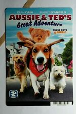AUSSIE & TED'S GREAT ADVENTURE PHOTO MINI POSTER BACKER CARD (NOT a dvd movie)