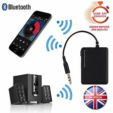 Bluetooth Adapter Receiver for Car Audio Stereo Wireless Music 3.5mm Aux A2DP