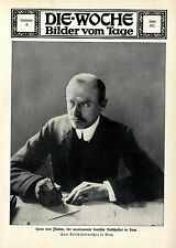 Hans von Flotow, der neuernannte deutsche Botschafter in Rom Botschafterw...1913