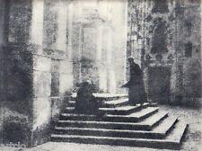 """Héliogravure - 1926 - """" Demi-Jour """"  par Alexandre Lang"""