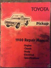 Toyota Pickup repair Manual 1980