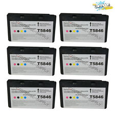 6PK T5846 ink for Epson PictureMate pal PM200 Charm PM225 Snap PM240 Dash PM 260