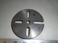 """MACHINIST TOOLS LATHE MILL Machinist 4"""" Face Plate for Craftsman Dunlap 1/2"""" BR"""